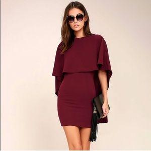 Lulu's Cape Dress